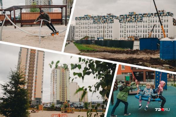 Тюменская слобода очень разная. Где-то нас удивили красивые дворы, а где-то расстроила полная безвкусица. Но главное, что людям это нравится