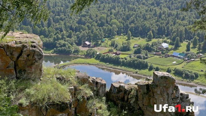 В Башкирии турист погиб, сорвавшись со скалы