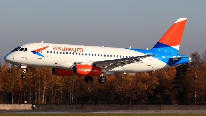 «На взлёт не вышел»: рейс Sukhoi Superjet 100 из Краснодара до Челябинска отменили из-за неполадок