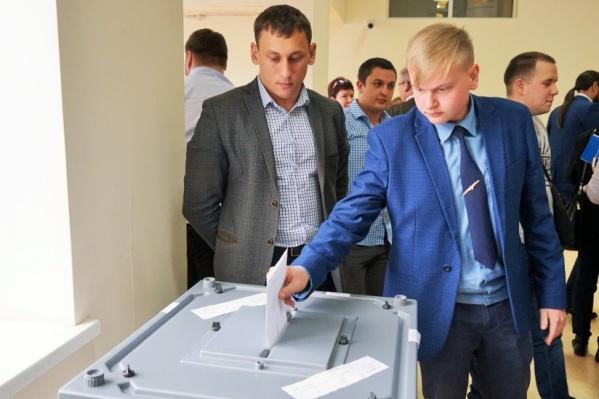 Тайное голосование прошло в стенах родного вуза