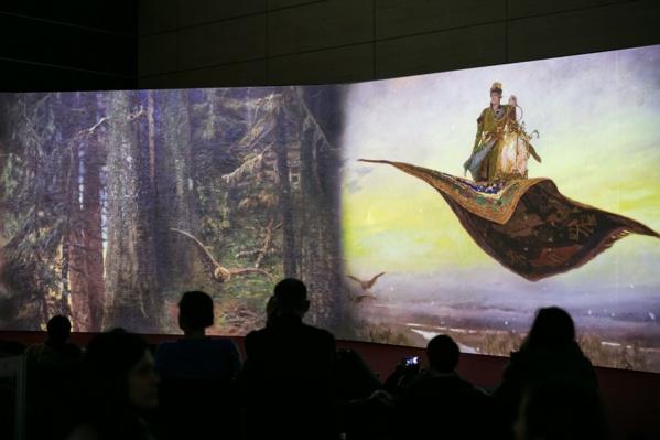 С помощью уникальных мультимедийных фильмов и интерактивных экспозиций можно получить максимум удовольствия
