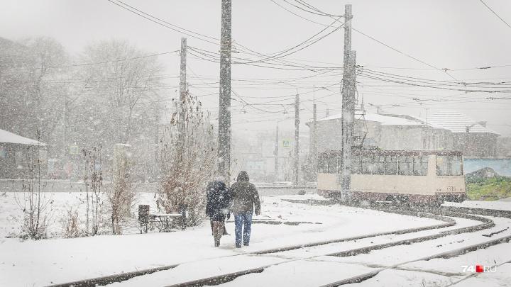 На смену морозам в Челябинскую область придут метели и потепление