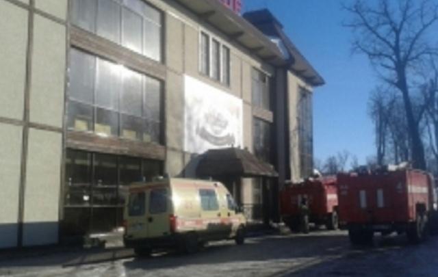 В Уфе горел ресторан Alpenhof: 20 человек эвакуированы