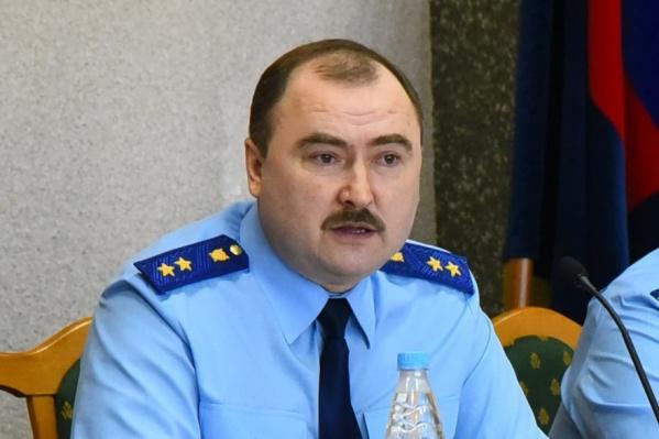 Владимир Фалилеев возглавлял прокуратуру Новосибирской области с мая 2015 года