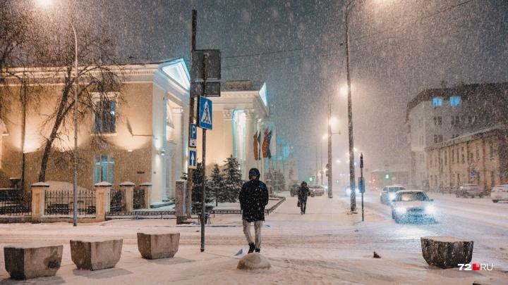 На Тюменскую область надвигается резкое потепление. Ожидаются снегопады и метель