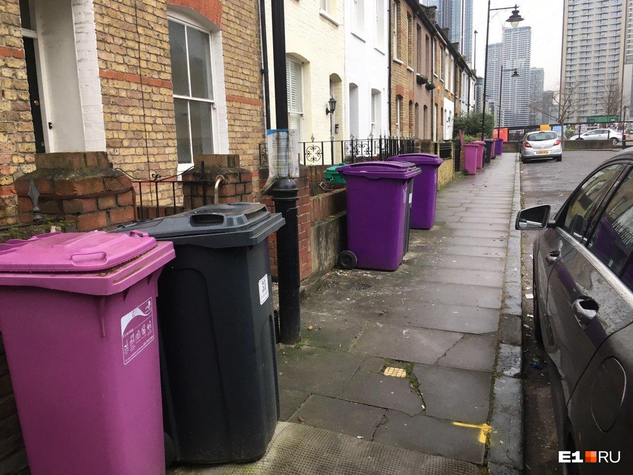 Так выглядит обычная лондонская улица