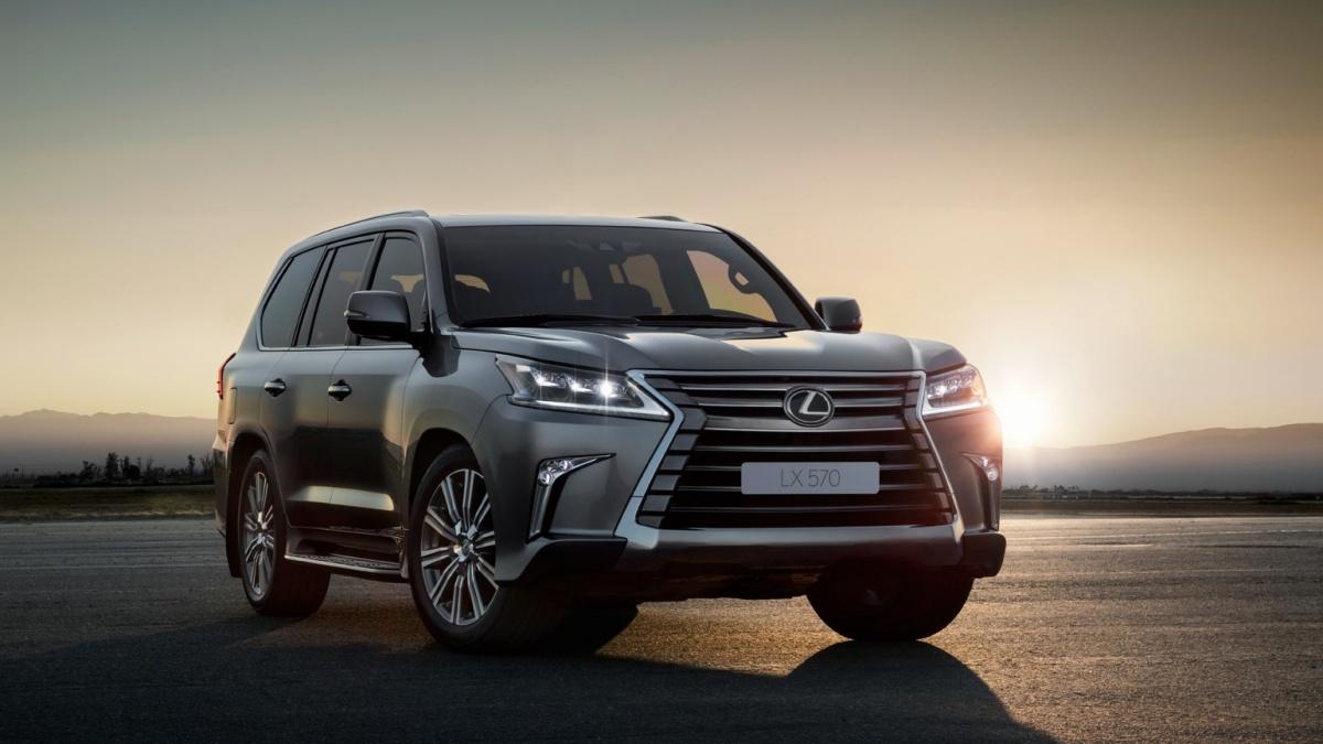 Lexus LX входит в тройку самых популярных у новосибирцев автомобилей марки