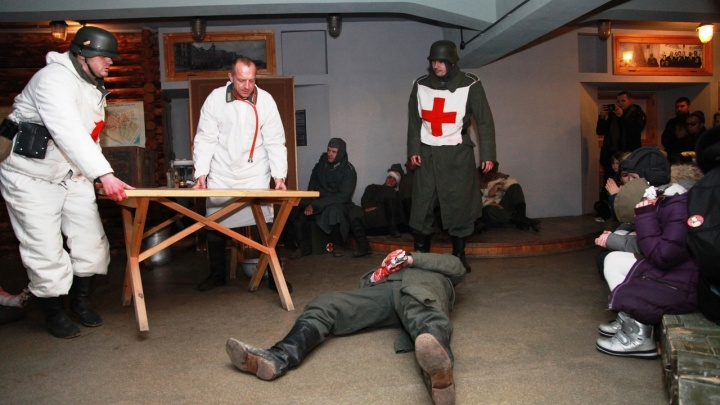 Отрезали руку на глазах у детей: в Волгограде показали немецкий госпиталь в подвале ЦУМа