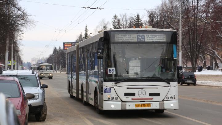 Езжу где хочу: жителей Уфы удивил необычный «трамвай»
