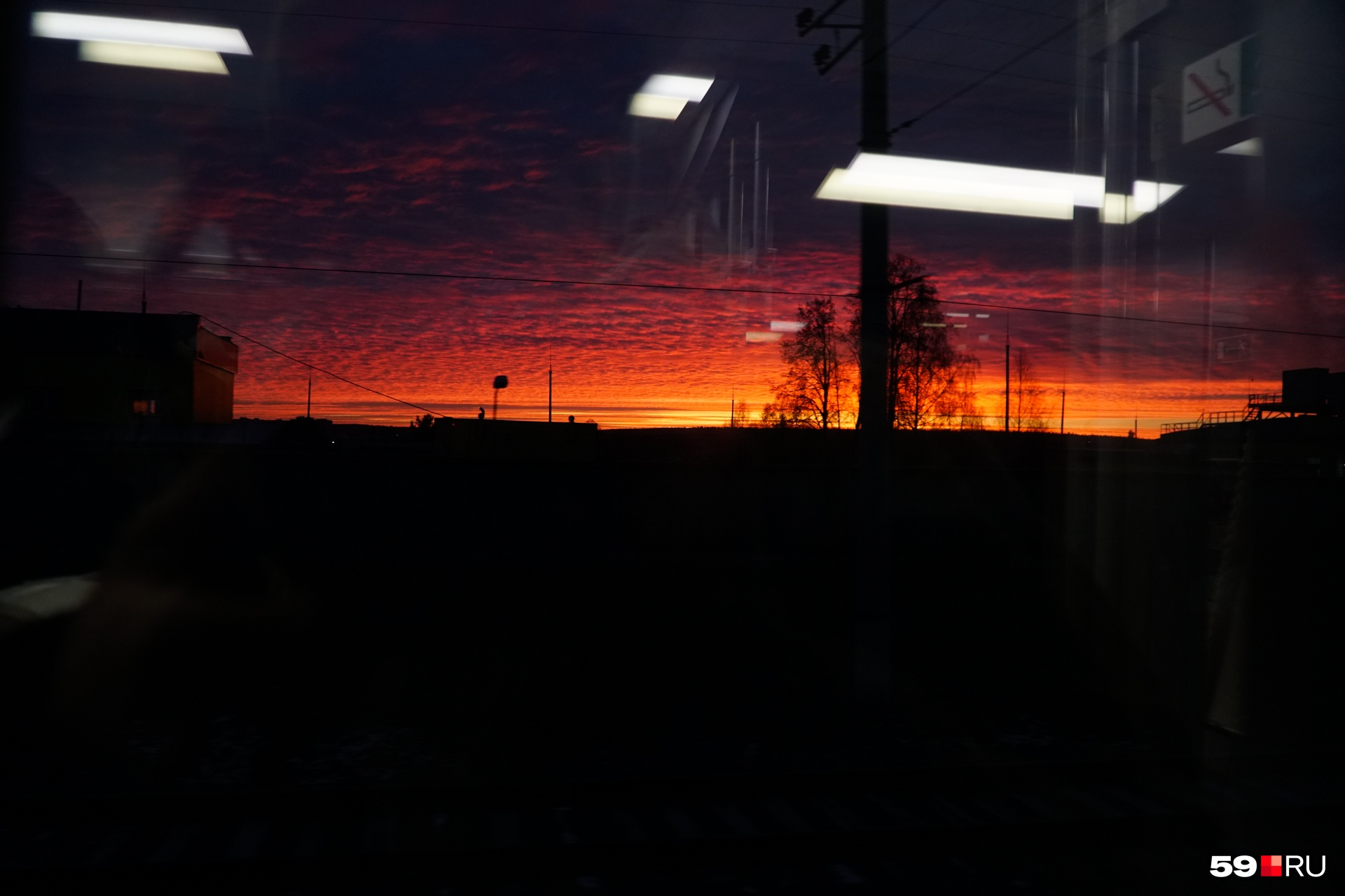 Восход сегодня был шикарный