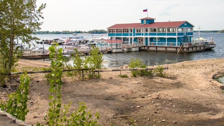 Самарская школьница утонула, упав с дамбы в Волгу на Ульяновском спуске