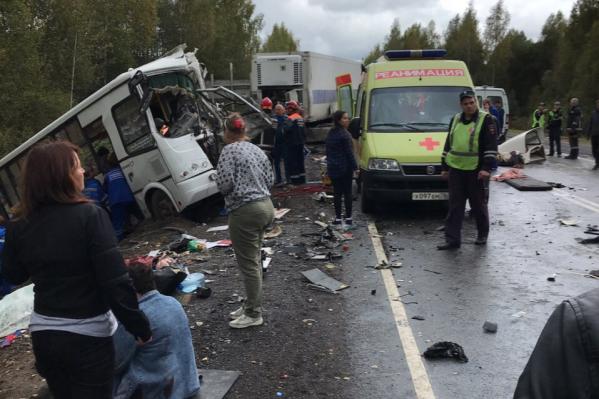 Автобус ехал из Ярославля в Гаврилов-Ям