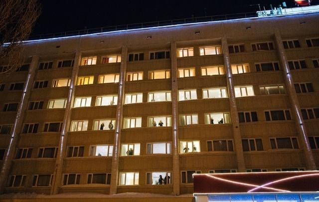 AZIMUT Отель Уфа для уфимцев зажег пламенное сердце