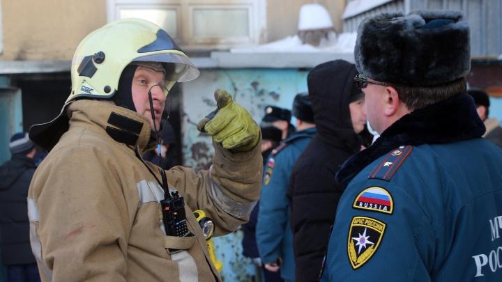 Полиция нашла возможного виновника пожара в БСМП-1