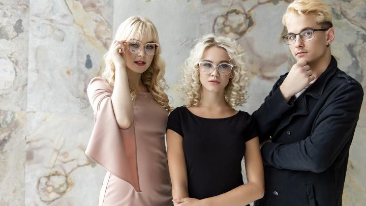 В оптике на Красном проспекте началась распродажа очков от Versace и Dolce&Gabbana