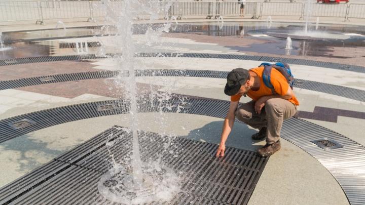 В новом пермском фонтане может застрять нога ребенка. Но почему там такая большая щель?