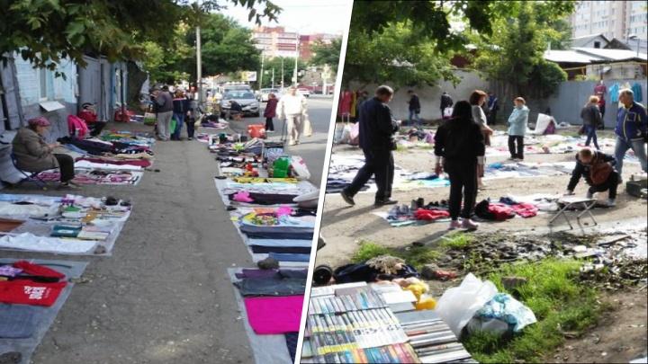 Власти предложили перенести блошиный рынок с «Буревестника» на Московское шоссе
