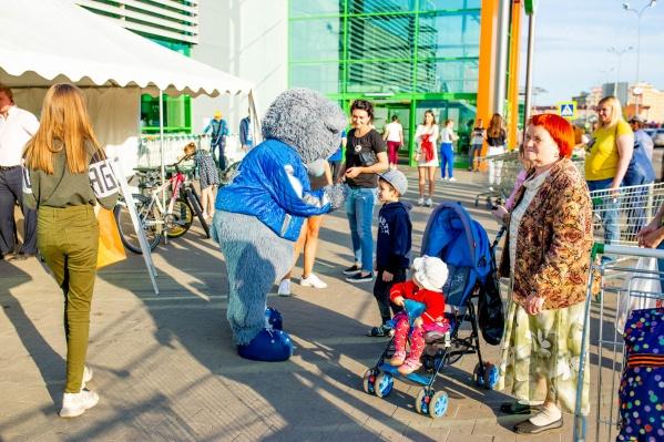 Детский праздник собрал ярославцев всех возрастов