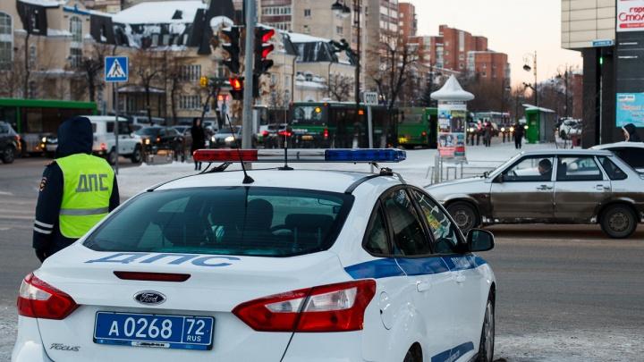 За первые три дня нового года инспекторы поймали на тюменских дорогах 71 пьяного водителя