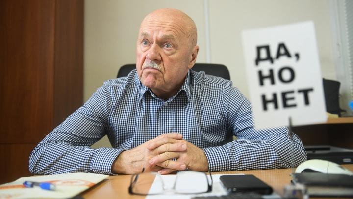 «30 лет работать деканом — это неприлично»: интервью E1.RU с легендарным Борисом Лозовским