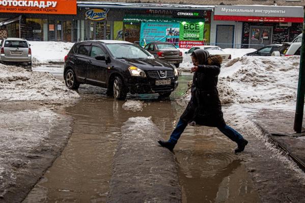 Прошлая оттепель была в Новосибирске на прошлых выходных
