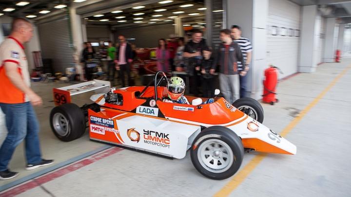 Команда уральских гонщиков стала победителем первого этапа соревнований в Московской области