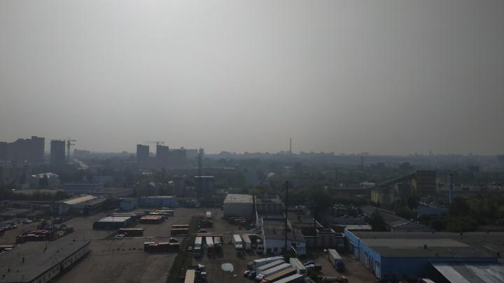 Смог из Башкирии добрался до Казани: люди жалуются на дымку в воздухе