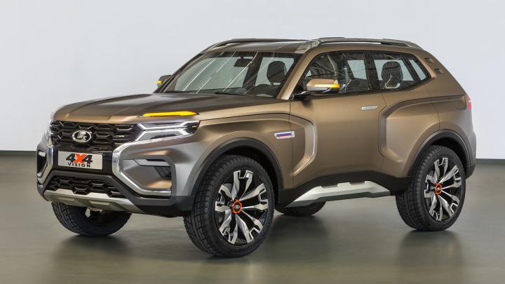 АВТОВАЗ запатентовал внешность новой «Нивы»: машина похожа на хомяка с надутыми щеками