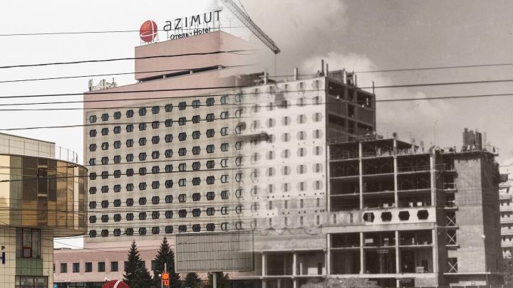 Понастроили тут! Угадываем известные здания Новосибирска по кирпичам и строительным лесам