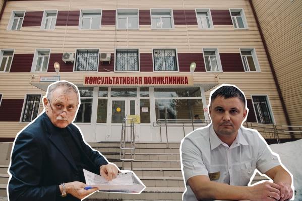 Александр Горохов и Олег Ефремов. Оба врача оперируют не один десяток лет