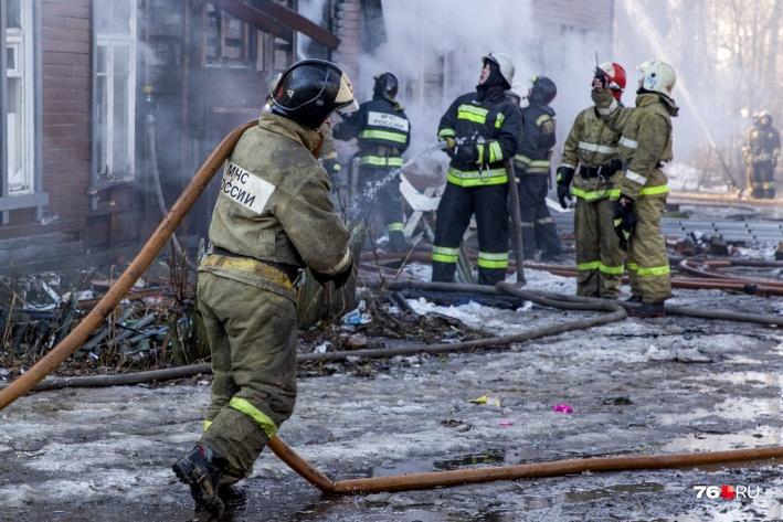 Пожарные приехали на место ЧП за 4 минуты