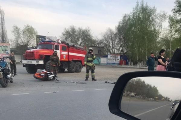 Авария случилась в районе дома №30