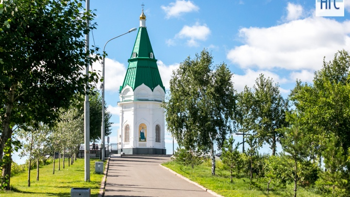 Летняя жара надвигается на Красноярск