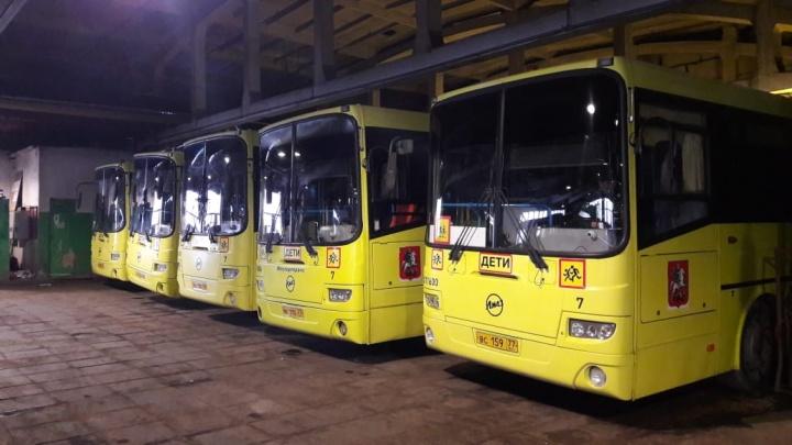 Б/у автобусы из Москвы теперь ездят по Ярославской области