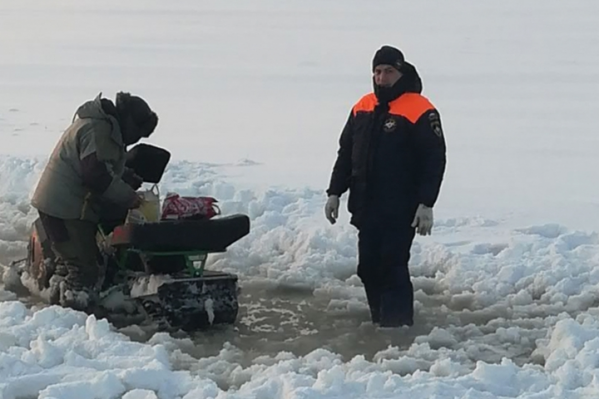 В регионе запрещен выезд на лёд