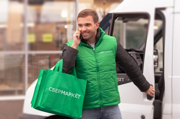 Курьеры СберМаркета доставят покупку до квартиры день в день в течение двух часов
