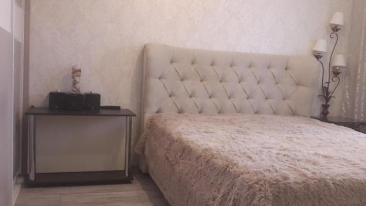 Спальня для королевы на 12 квадратах