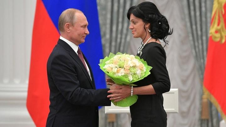 «Запах хлеба как родной»: Путин лично наградил пекаря из Магнитогорска