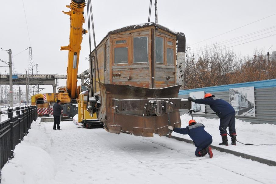 Снегоочиститель стал 36-м экспонатом музея под открытым небом