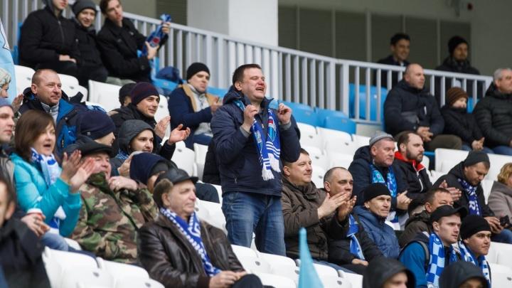 Рекорд в кармане!: игру волгоградского «Ротора» против «Балтики» посмотрели больше 25 тысяч зрителей