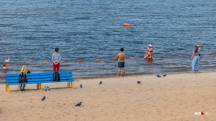 Убрали мусор, подготовили спасателей: в Самаре начинается пляжный сезон