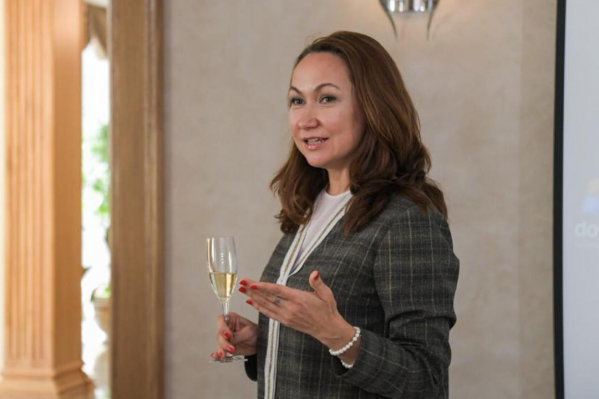 Наталья Куйвашева — известная ценительница вина, владелица винного бутика в Тюмени
