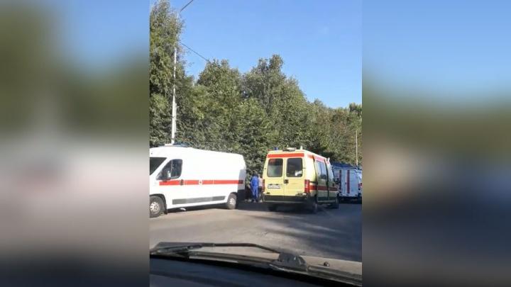 Серьёзное ДТП в Башкирии: водитель отечественной легковушки влетел в КАМАЗ