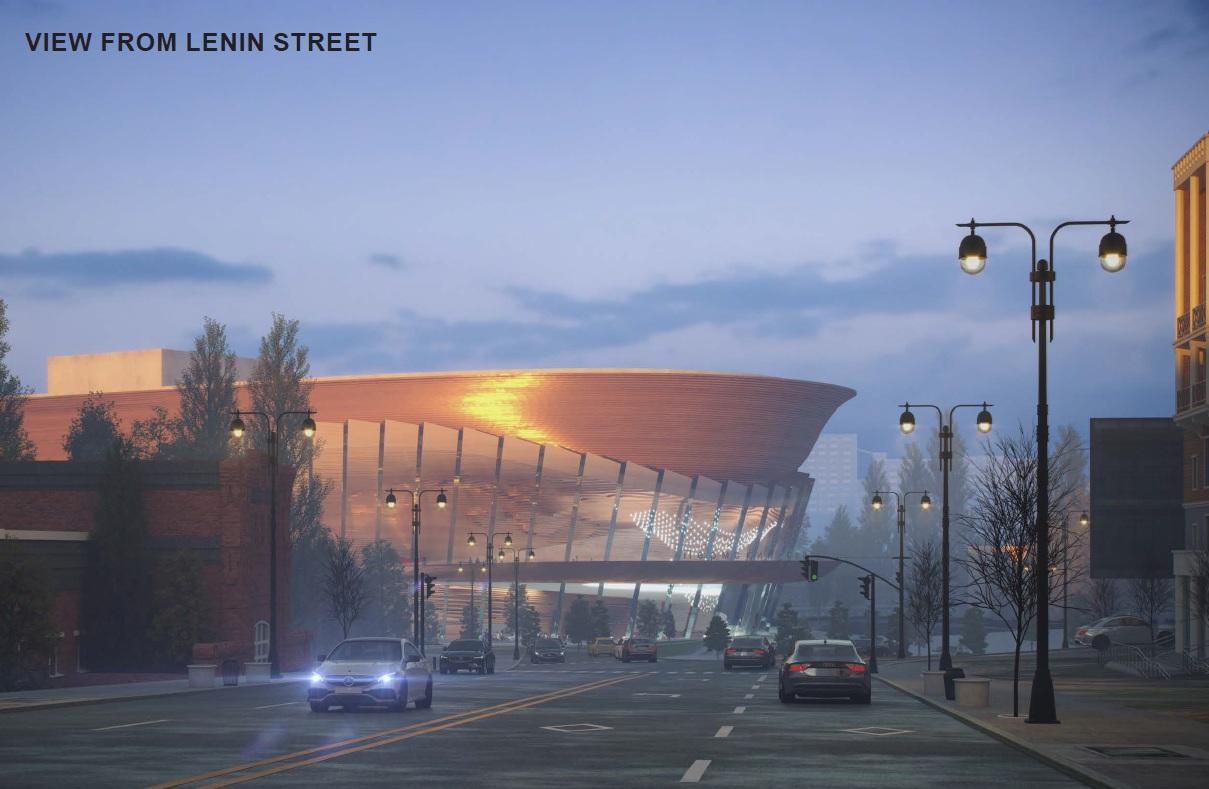 Так будет выглядеть Оперный со стороны улицы Ленина