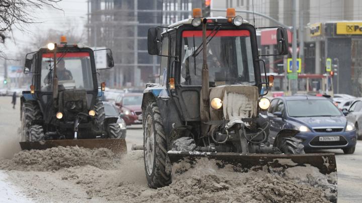 Власти Челябинска рассказали об итогах проверок компаний, выигравших конкурсы на уборку дорог