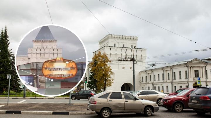 Торговый комплекс под площадью Волкова: рассматриваем невероятный проект для центра Ярославля. Видео