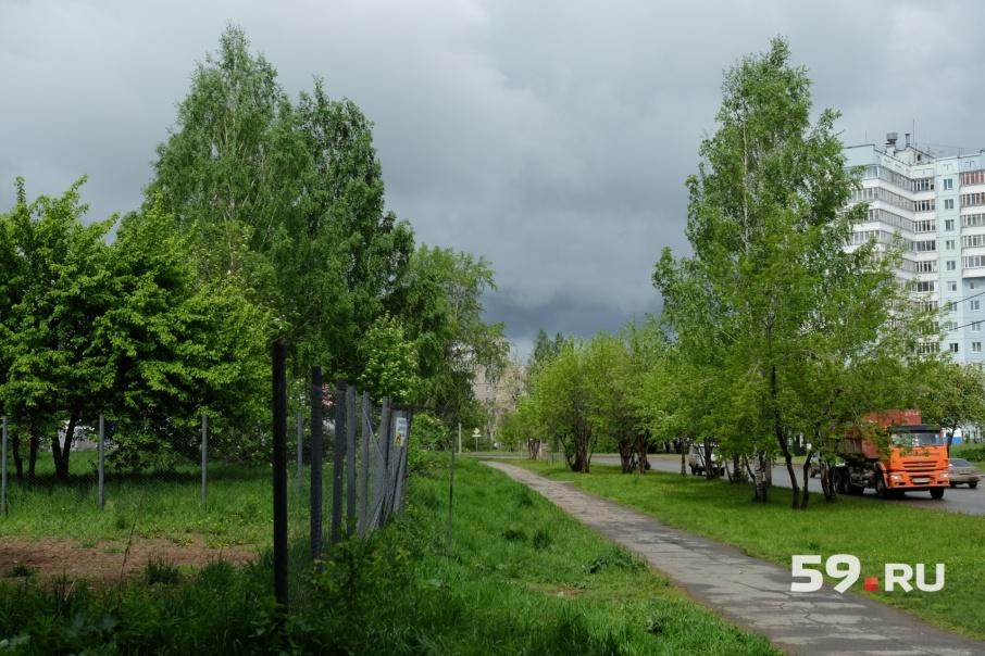 Парк Победы находится в микрорайоне Нагорный