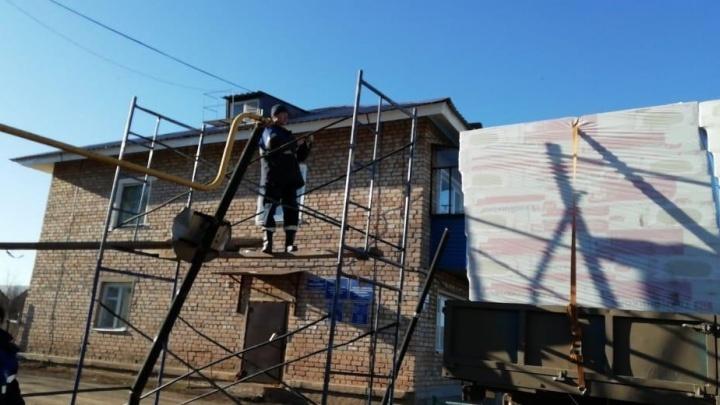В Башкирии восстановили газоснабжение двух домов после аварии