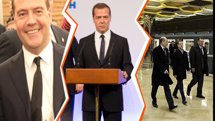 Открыл «Ботаническую» и Ельцин-центр: вспоминаем визиты Дмитрия Медведева в Екатеринбург
