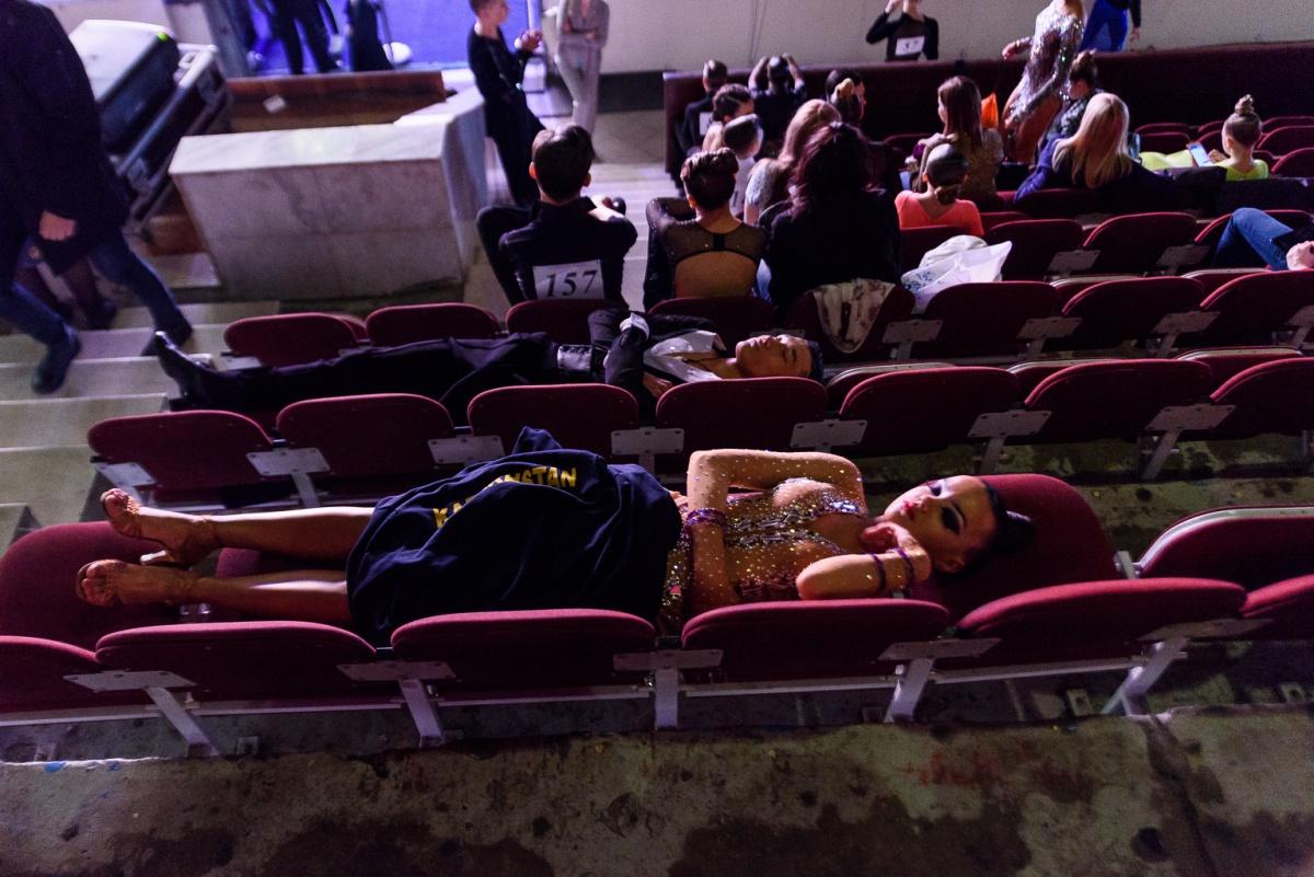 Пока соревнования не начались, нужно было набраться сил – потом точно будет не до сна